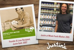 Justins on store shelves