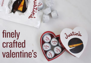 Justins valentines peanut butter cups