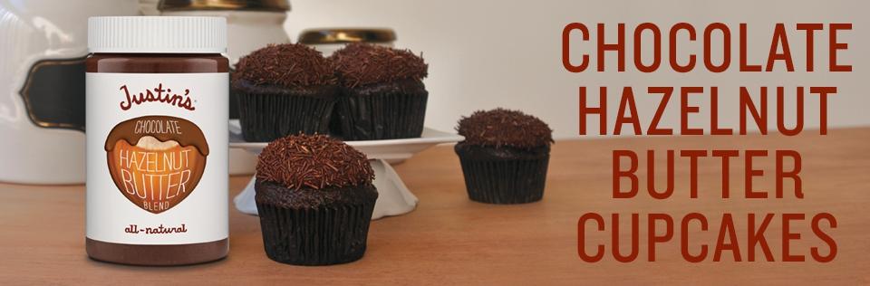 Chocolate Hazelnut Butter Cupcakes