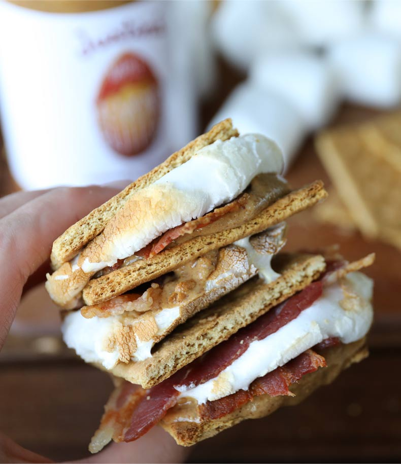 MAPLE BACON SMORES